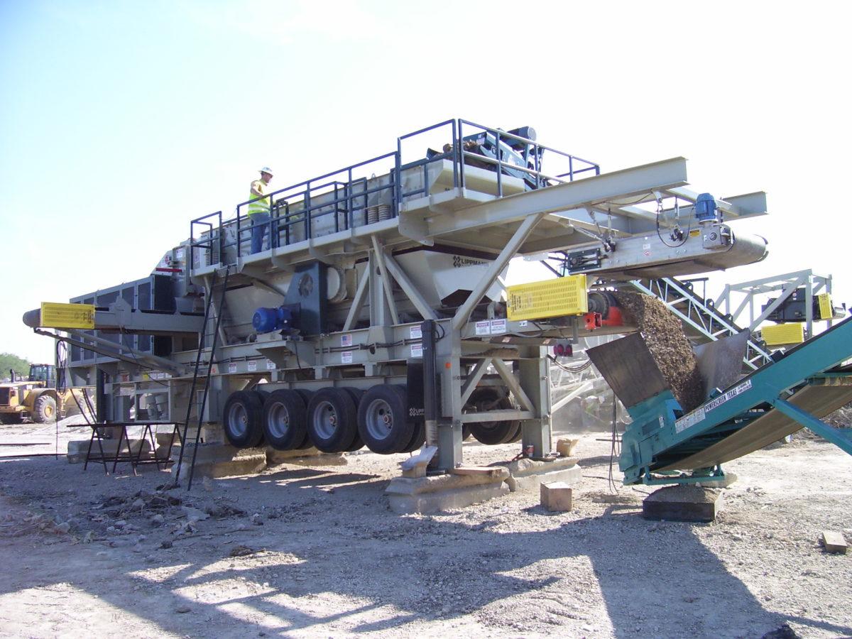 5165ls portable impactor plant