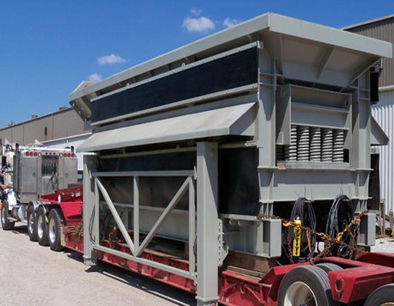 hydraulic hopper removal system 2