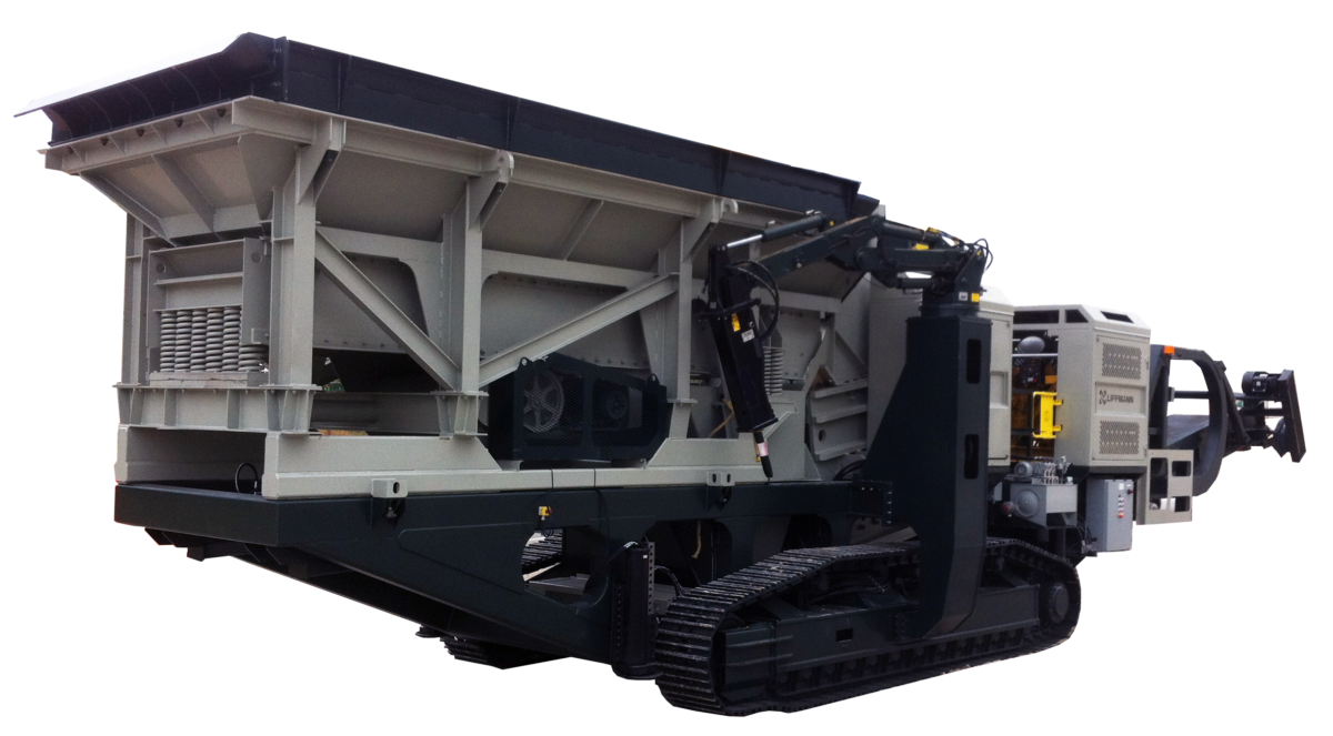 lt3252 track mounted mobile jaw plant