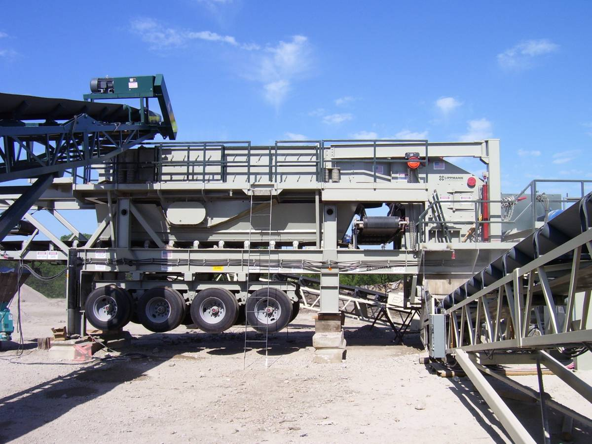 5165ls impactor screen plant recycle v2