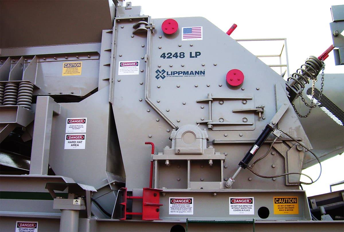 4248lp impact crusher a